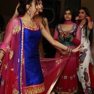 Dresses & Skirts - Royal Blue Punjabi Outfit